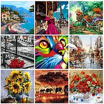 Картины по номерам все популярней в Украине