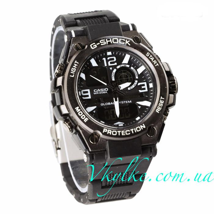 Годинник Casio G-Shock GST-1000 чорні