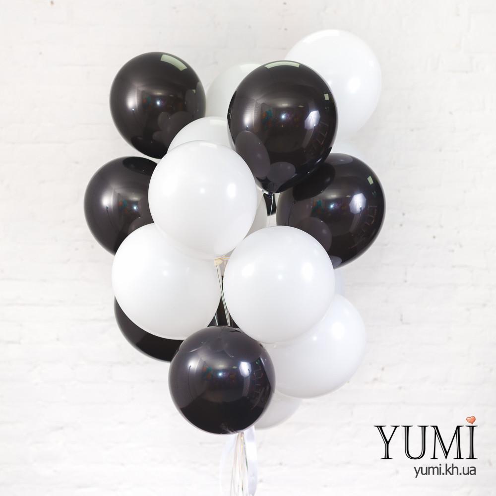 Связка для мужчины из 20 воздушных шариков