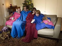 Одеяло - плед - халат с рукавами CUDDLE BLANKET
