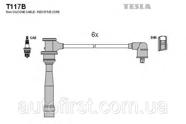 Высоковольтные провода Tesla T117B для автомобилей Hyundai, Kia