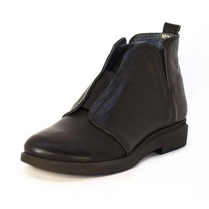 Ботинки кожаные на резинке 7210