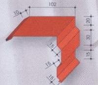 Планка торцевая №2