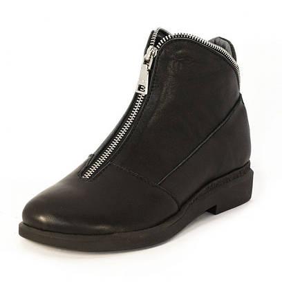 Ботинки кожаные на молнии 7900