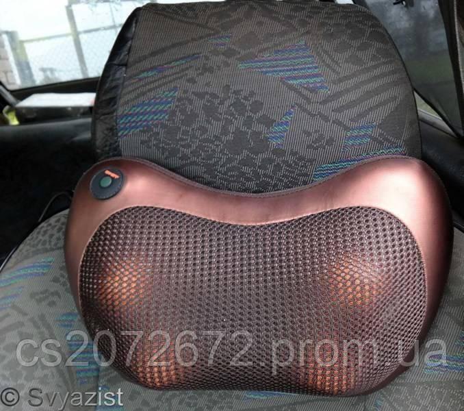 Массажная подушка для дома и машины Magic Massage pillow CHM-8018