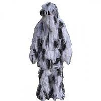 Маскировочный костюм  Кикимора Белый