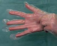 Перчатки одноразовые полиэтиленовые. 100 шт