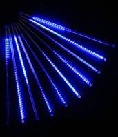 """Гирлянда """"Тающие сосульки"""" LED 50см синие(8шт.)"""