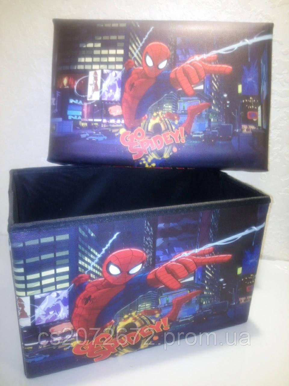 """Органайзер для хранения игрушек """"Человек паук"""""""