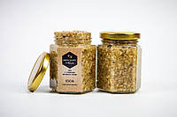Мед з сумішшю мелених горіхів