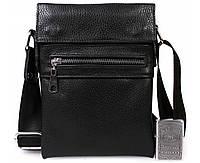 d23a0be30ad8 Небольшая мужская кожаная сумка для документов черная av-95black в категории  сумки оптом харьков от