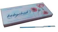 Тест для определения беременности BABYCHECK-1, Франция №2, чувств. от 10 ед., НДС