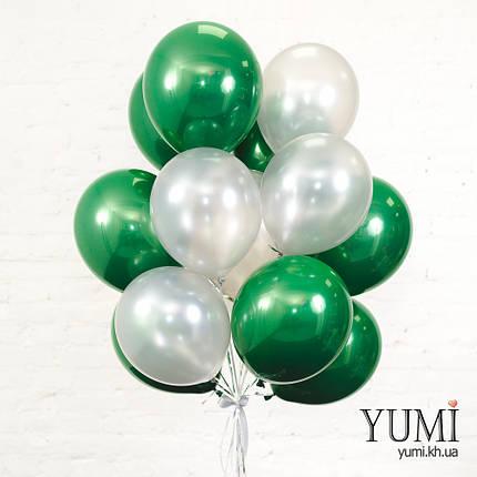 Связка для парня из 15 шаров с гелием, фото 2