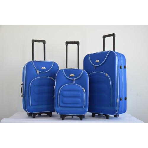 Чемодан сумка Bonro набор 3 штуки Цвет: sky blue