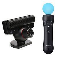Набор джойстик, камера, игра Playstation Move: Starter Pack (Ps3), фото 1