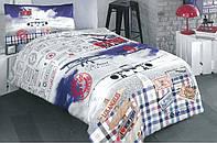 Детский комплект постельного белья полуторный, ранфорс 100% хлопок. (арт.8960)