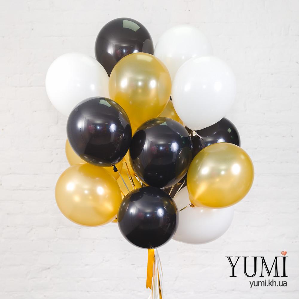 20 воздушных шаров с гелием для папы