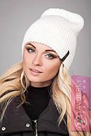Стильная женская шапочка в расцветках, фото 1