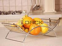 ДС Корзинка для фруктов 'арка' хром