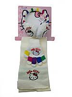 Наушники-шарф и перчатки на девочку