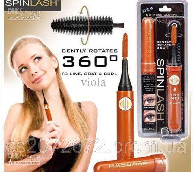 Вращающаяся щеточка для нанесения туши на ресницы Mascara SpinLash
