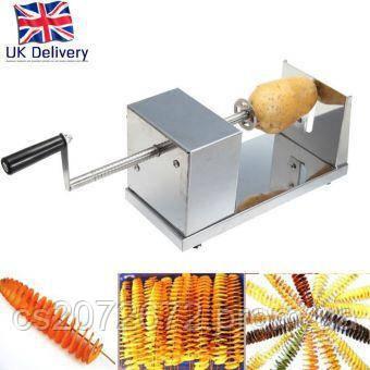 Аппарат для спиральной нарезки картофеля