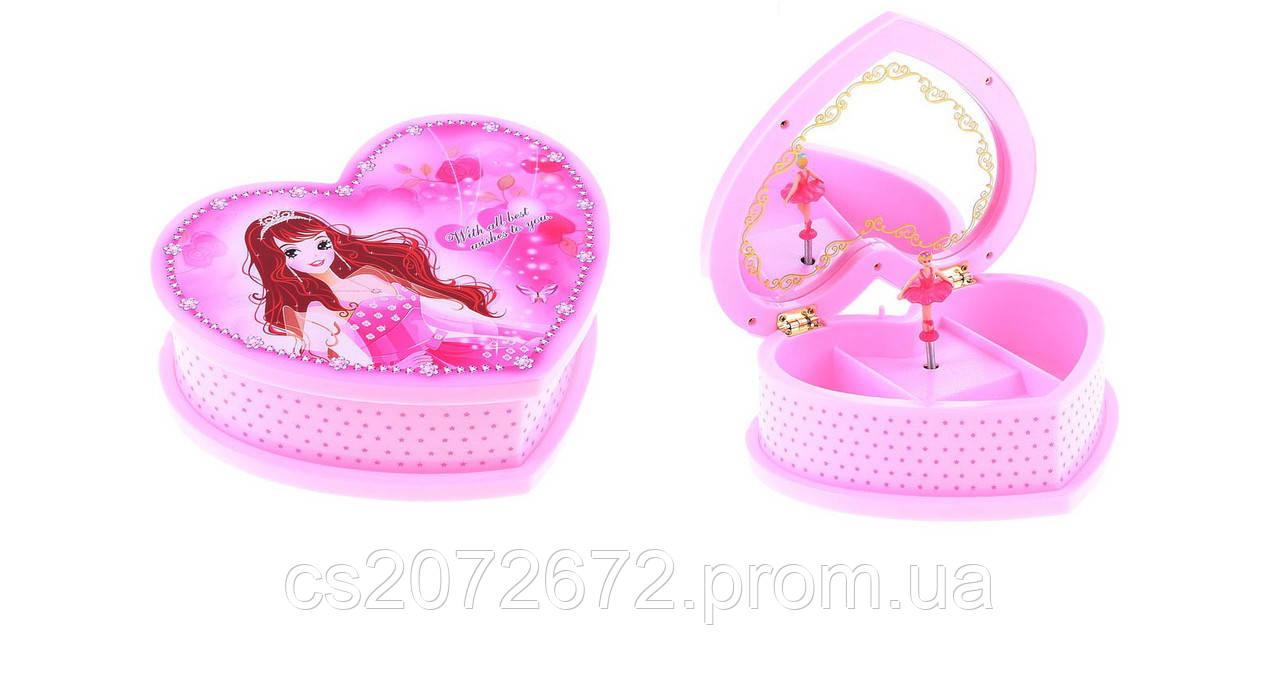 Музыкальная шкатулка «Сердце принцессы»
