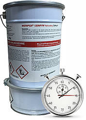 Швидкореагуюча пігментована 2-компонентна смола Weripox® 120S, пак. 30 кг / Эпоксидный наливной пол
