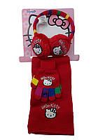 Детский комплект Наушники-шарф и перчатки