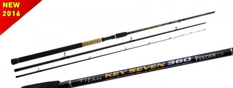 Вудлище Fishing ROI Titan Key Seven Feeder 360 120gr