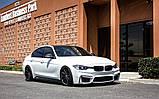 Передний бампер на BMW F30 M стиль (без противотуманок), фото 5