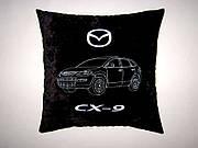 Сувенирная автомобильная подушка Mazda