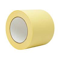Малярная лента 100 мм 50 м жёлтая