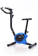 Механический велотренажер HS-010H Rio BLUE до 100 кг. Гарантия 24 мес.