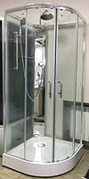 Душевая кабина Appollo TS-6032S с задними стенками и смесителем, 900х900х2100 мм