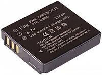 Батарея для  PANASONIC CGA-S005, CGA-S005A, CGA-S005A/1B, CGA-S005E, CGA-S005E/1B, DMW-BCC12, DMC-FS1, DMC-FS2