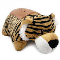 Ночник-проектор звездное небо Тигр  DREAM LITES ПОДУШКА