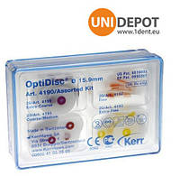 Диски полировальные оптидиск керр optidisc 4188 нобор (120шт)