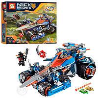 """Конструктор SY566 Nexo Knights (аналог Лего 70315) """"Устрашающий разрушитель Клэя"""", 432 дет"""