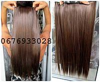Волосы ТЕРМО на заколках тресс прядь  60см #2/30