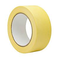 Малярная лента 38 мм 50 м жёлтая