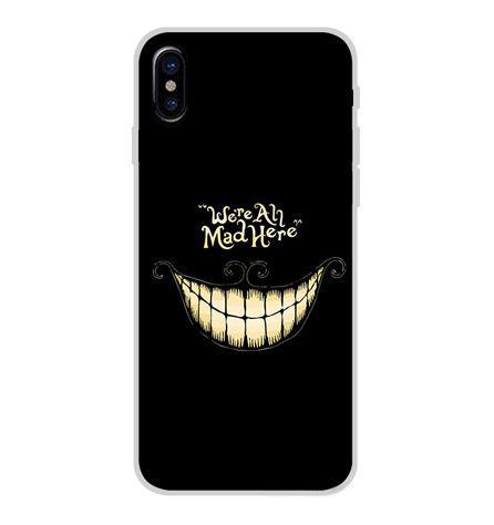 Оригінальний чохол накладка для Iphone X з картинкою Посмішка