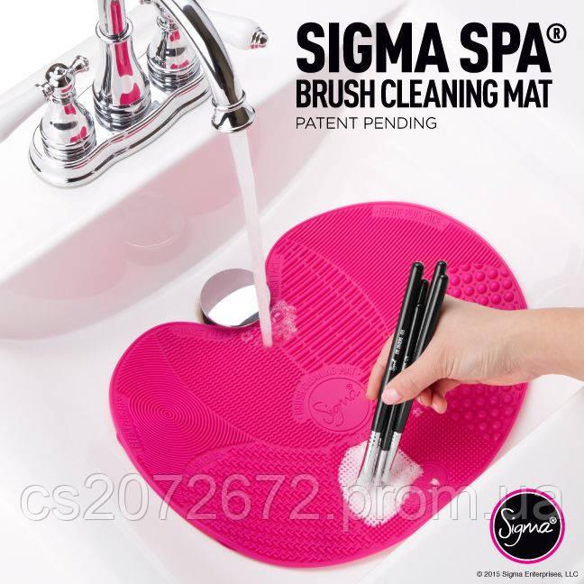 Чистящий коврик для мытья макияжных кистей Brush Cleaning Mat