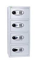Офисный сейф Ferocon БС-88Е4.7035, 370х880х300, электронный замок, 28 кг