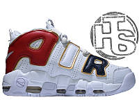Мужские кроссовки Nike Air More Uptempo 96 GS Navy Blue/Red/Gold/White 414962-108