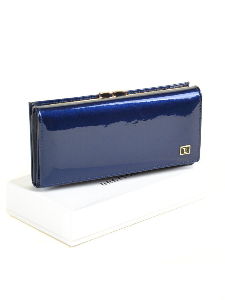 Кошелек Gold кожа BRETTON W1 dark-blue