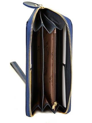 Кошелек Gold кожа BRETTON W38 dark-blue, фото 2