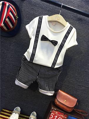 Комплект для мальчика. Двойка футболка и шорты, фото 2