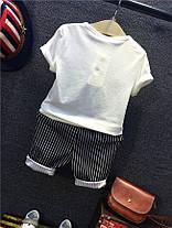 Комплект для мальчика. Двойка футболка и шорты, фото 3