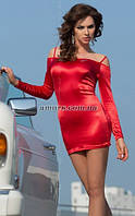 Мини-платье Roxie красное M, фото 1